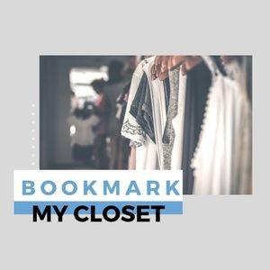 Bookmark my closet 🌼